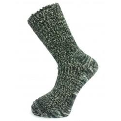 ponožka teplá zdravotní česaná melír