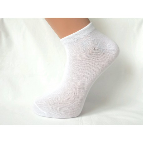 ponožka kotník bílá