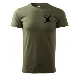 Tričko Jelen v trávě