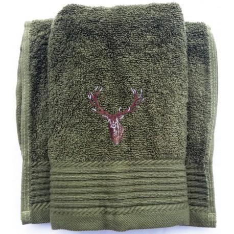 Ručník vyšívka jelen