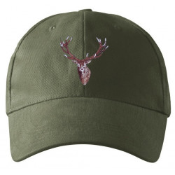Kšiltovka jelen vyšívka