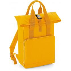 """Batoh """"Roll-Top"""" s dvojitým držadlem žlutý"""