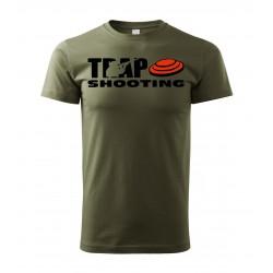 Tričko Trap - military