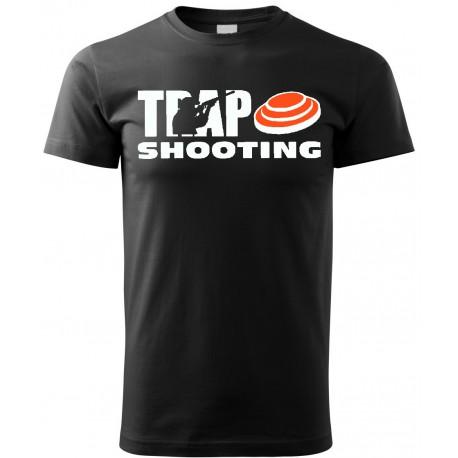 Tričko Trap - černá