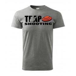 Tričko Trap - šedá