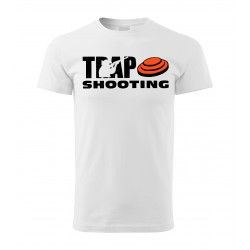 Tričko Trap - bílá