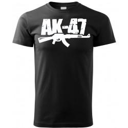 Tričko AK47 - šedá