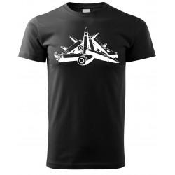 Tričko Náboje - černá