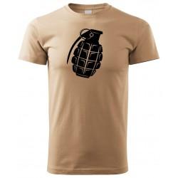 Tričko Granát - béžová