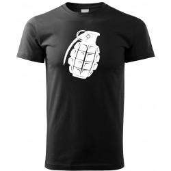 Tričko Granát - černá