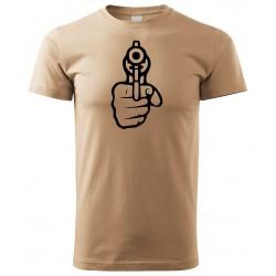 Tričko Revolver - béžová