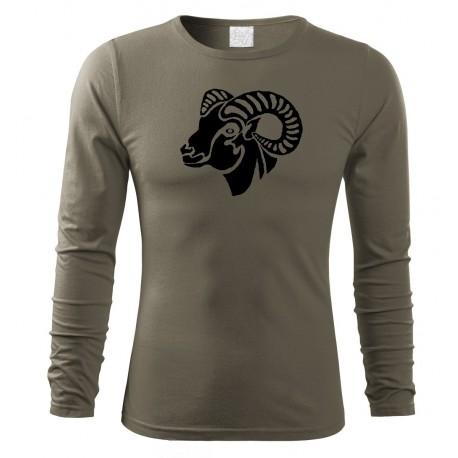 Tričko Muflon dlouhý rukáv