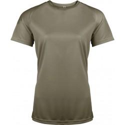 Funkční tričko dámské zelené