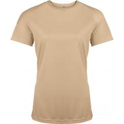 Funkční tričko dámské krémové