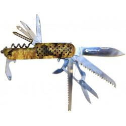 Nůž zavírací multifunkční camou